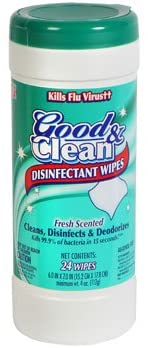 Good & Clean Disinfecting Wipes