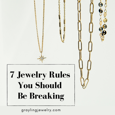 7 Jewelry Rules You Should Be Breaking