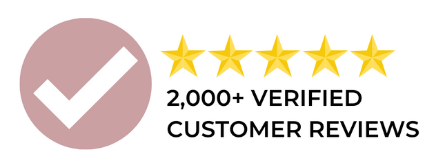 2000+ Verified Customer Reviews