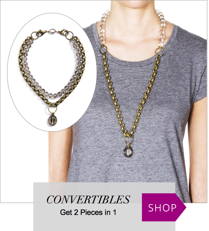 Shop Our Convertible Jewelry Collection