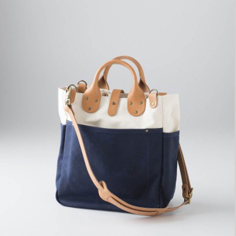 Canvas Utility Bag Navy
