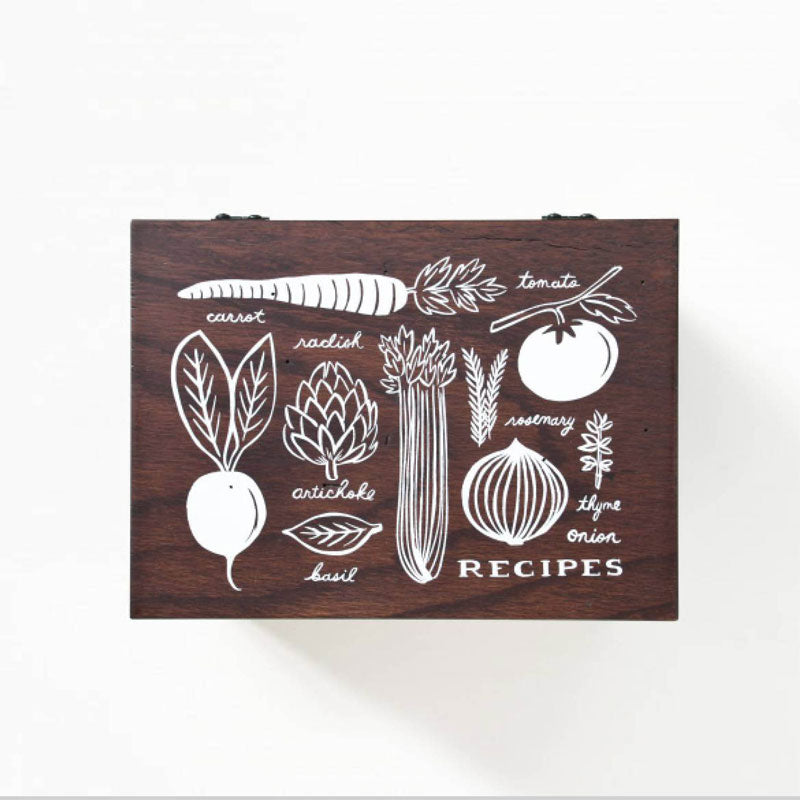 Heirloom Garden Recipe Box Rifle Paper Co.
