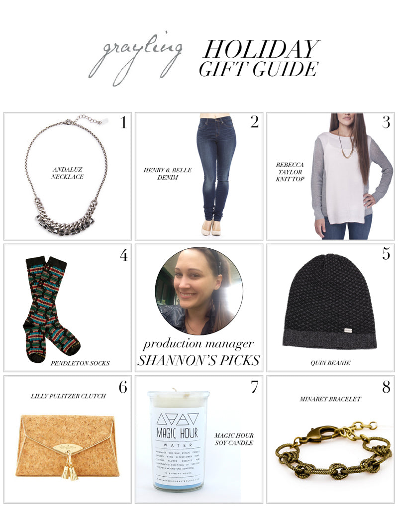 Ultimate Gift Guide - Shannon from Grayling Jewelry