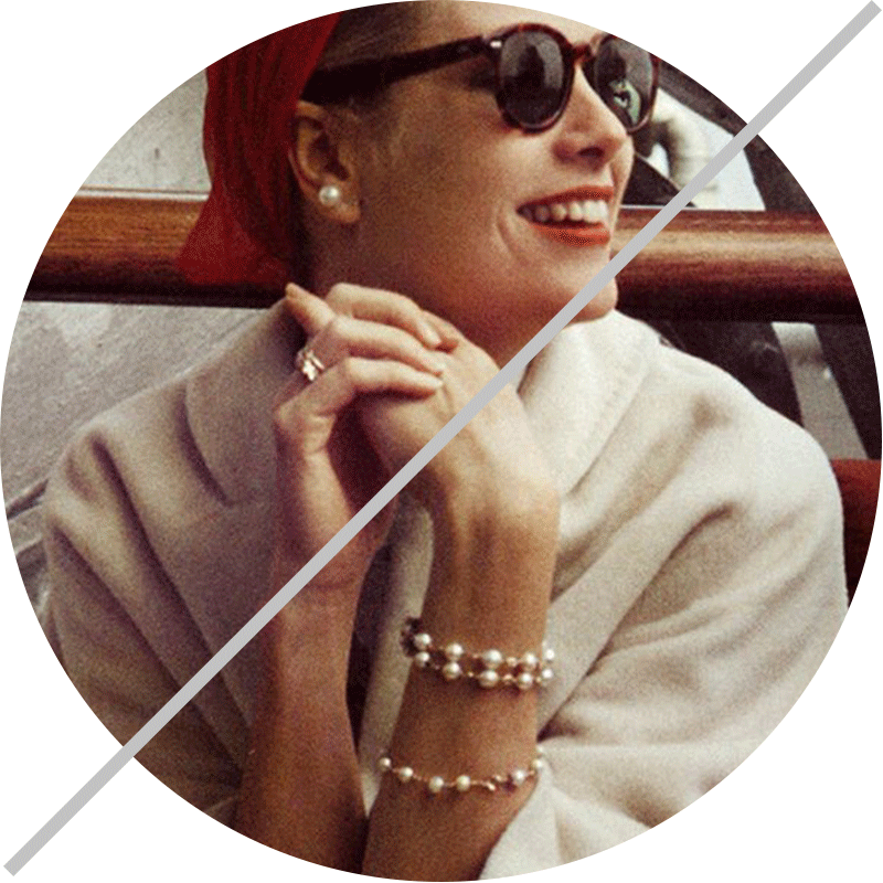 pearls grace kelly