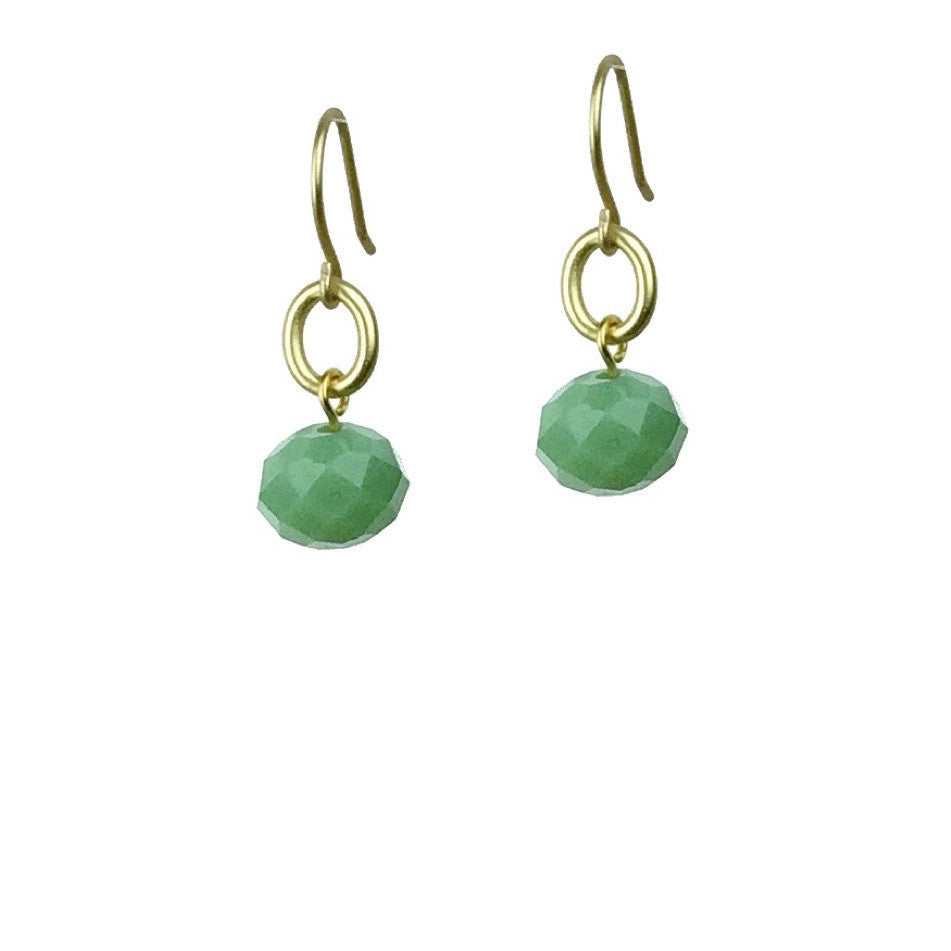 Abacus Earrings - Jade
