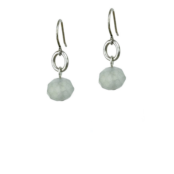 Abacus Earrings - Light Cadet
