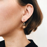 Abacus Earrings - Peach 2