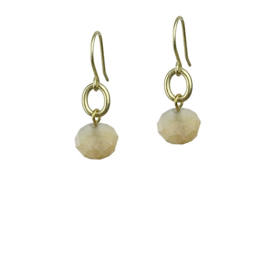 Abacus Earrings - Peach