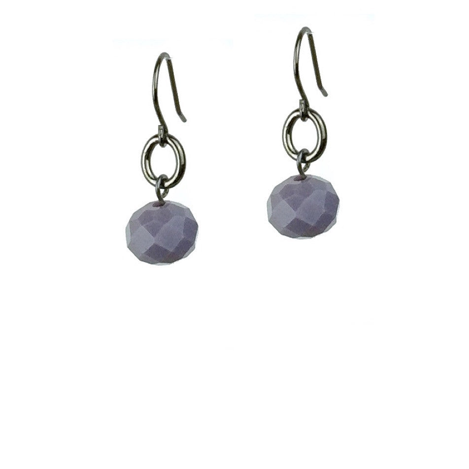 Abacus Earrings - Violet