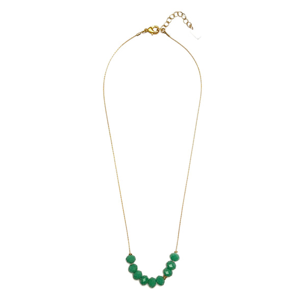 Abacus Necklace - Jade