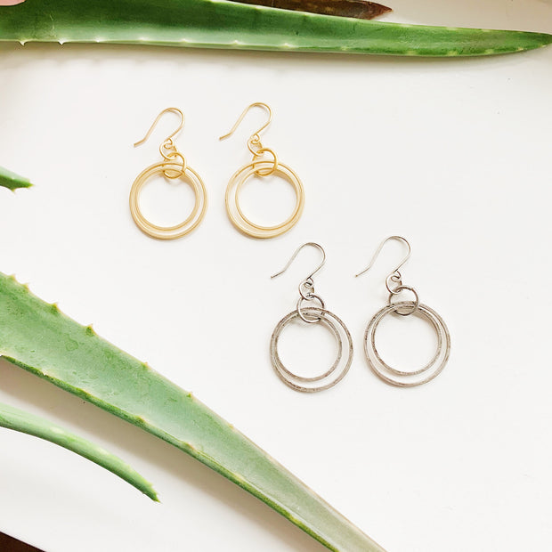 Andromeda Earrings - Gold