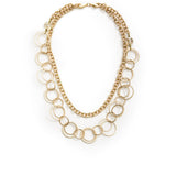 Andromeda Convertible Necklace - Gold 2