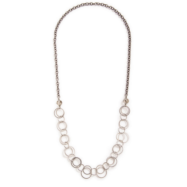 Andromeda Convertible Necklace - Silver
