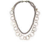 Andromeda Convertible Necklace - Silver 2