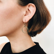 Andromeda Earrings - Brass 2