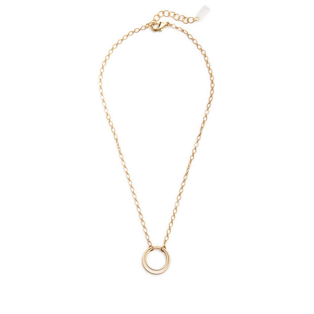 Andromeda Pendant Necklace - Gold