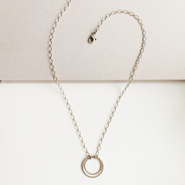 Andromeda Pendant Necklace - Silver