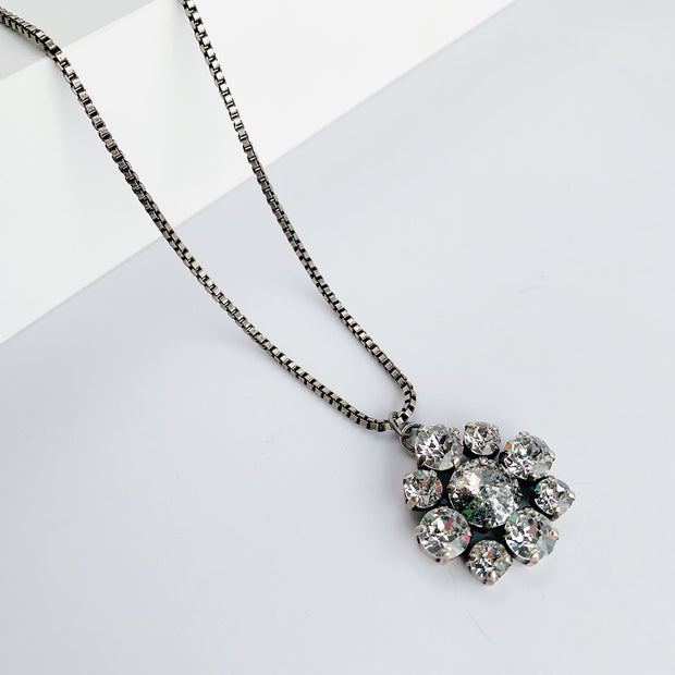 Antoinette Necklace - Silver