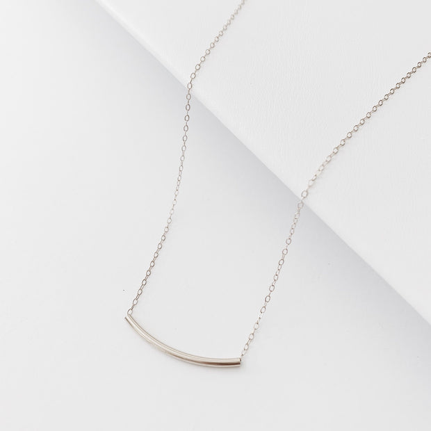 Arc Necklace - Sterling Silver