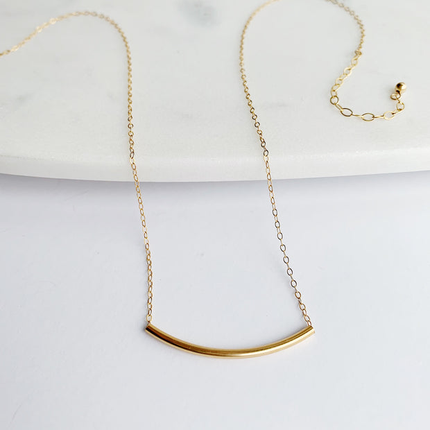Arc Necklace - 14k Gold Fill