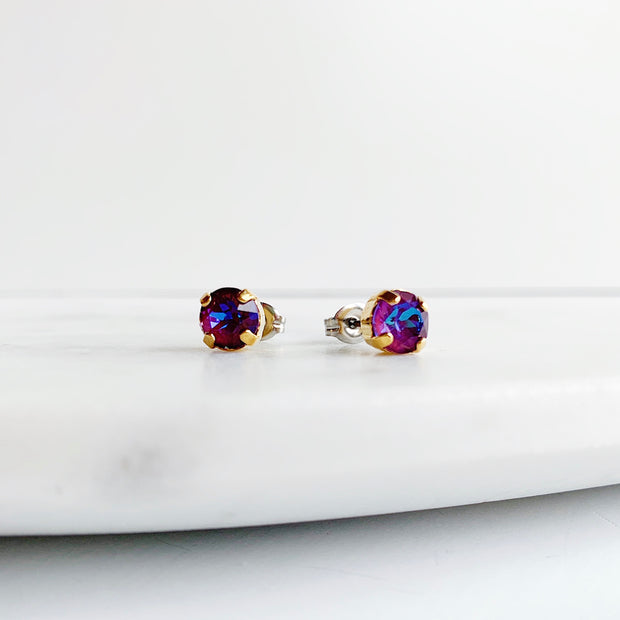 Audrey Swarovski Stud Earring Trio Set - Bouquet