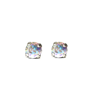 Audrey Swarovski Crystal Stud Earrings - Confetti