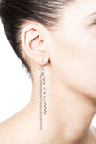 Basaltic Earrings – Silver 2