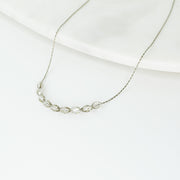 Basaltic Necklace – Silver/Smoky