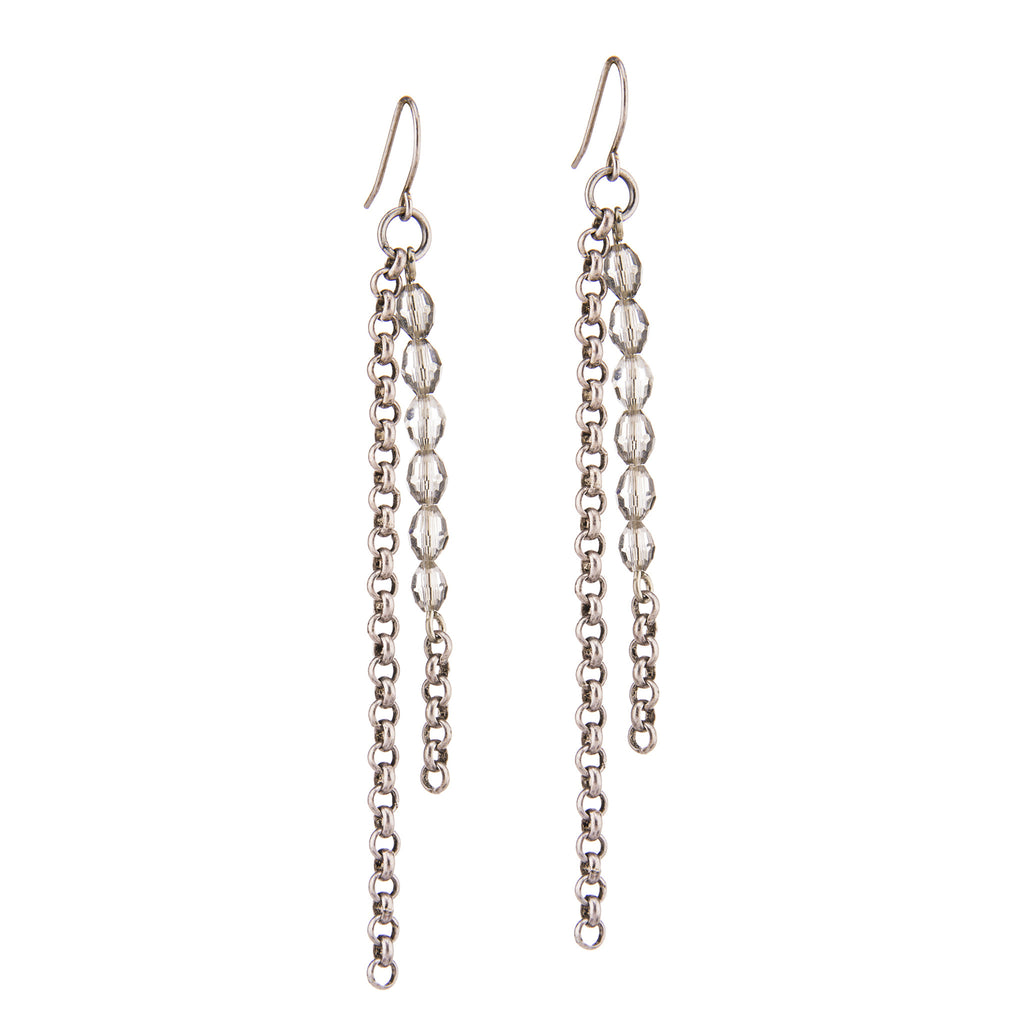 Basaltic Earrings – Silver