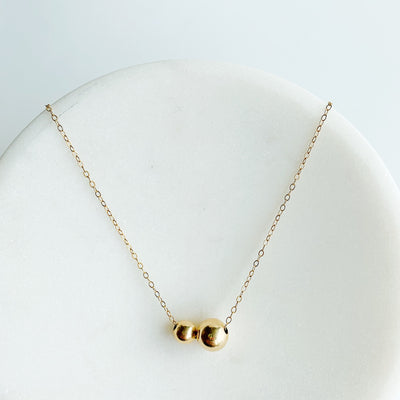 Billie Fine Choker - 14k Gold Fill