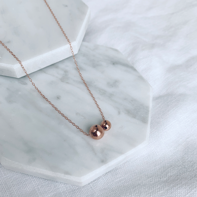 Billie Fine Choker - 14k Rose Gold Fill