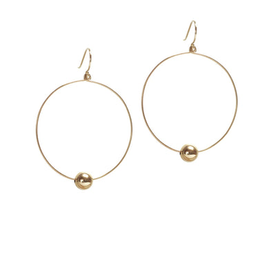 Billie Hoop Earrings - 14k Gold Fill
