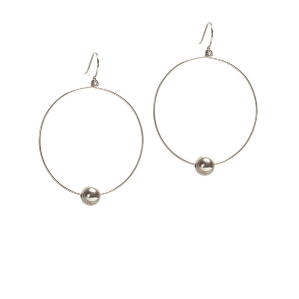 Billie Hoop Earrings - Sterling Silver
