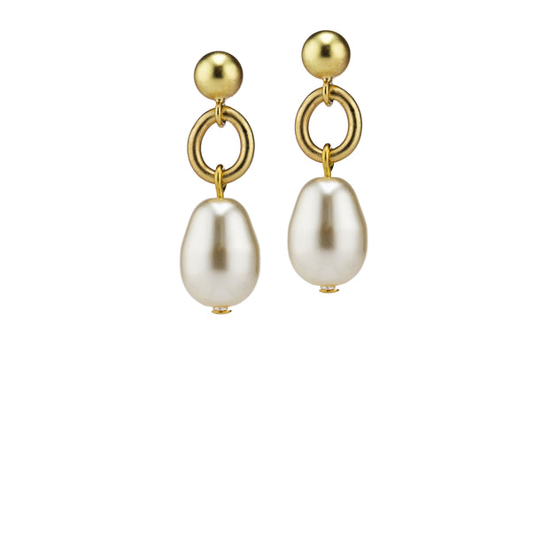 Billie Post Earrings – Gold