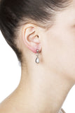 Billie Post Earrings – Silver 2