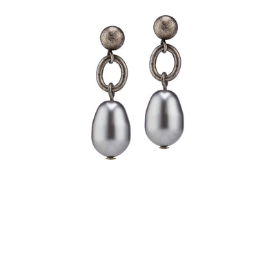Billie Post Earrings – Silver