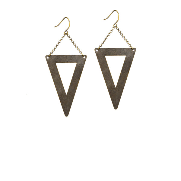 Biscayne Earrings - White Background
