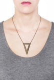 Biscayne Necklace - Brass