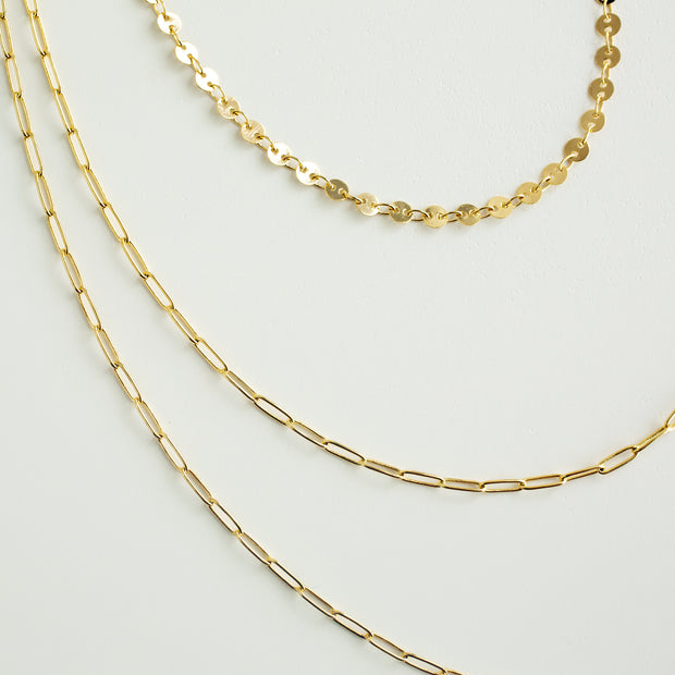 Cambria Layered Chain Necklace