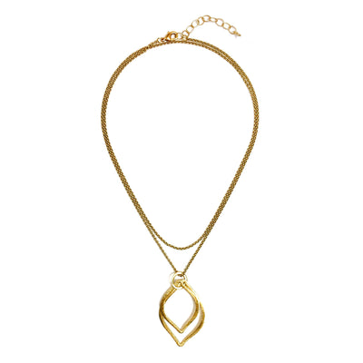 Capri Convertible Necklace - Gold