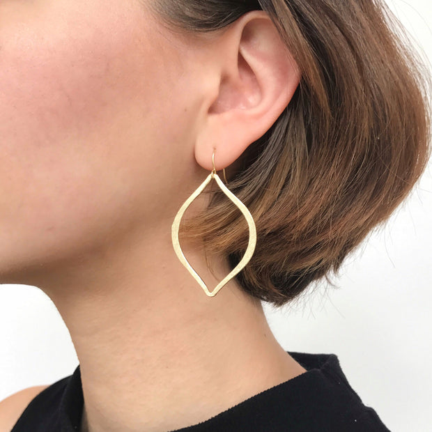 Capri Drop Earrings - Gold - Imperfect