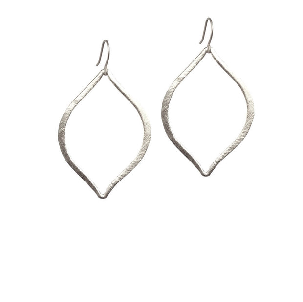 Capri Drop Earrings - Silver
