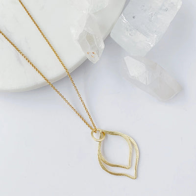 Capri 2-in-1 Necklace - Gold