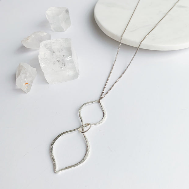 Capri 2-in-1 Necklace - Silver