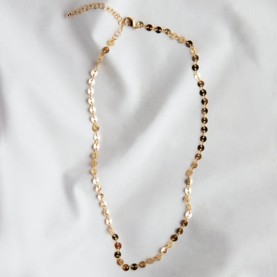 Catalina Sequin Choker Necklace