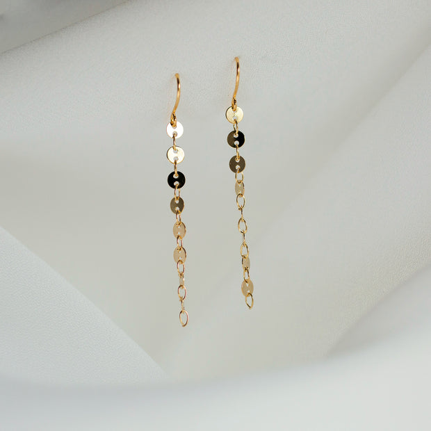 Catalina Sequin Drop Earrings
