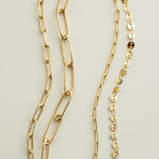 Catalina Layered Chain Bracelet