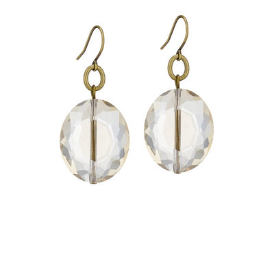 Caviar Earrings – Champagne - Imperfect
