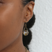 Celestial Earrings - Gilded Pinot