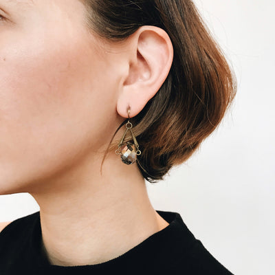 Celestial Earrings - Gilded Pinot 2